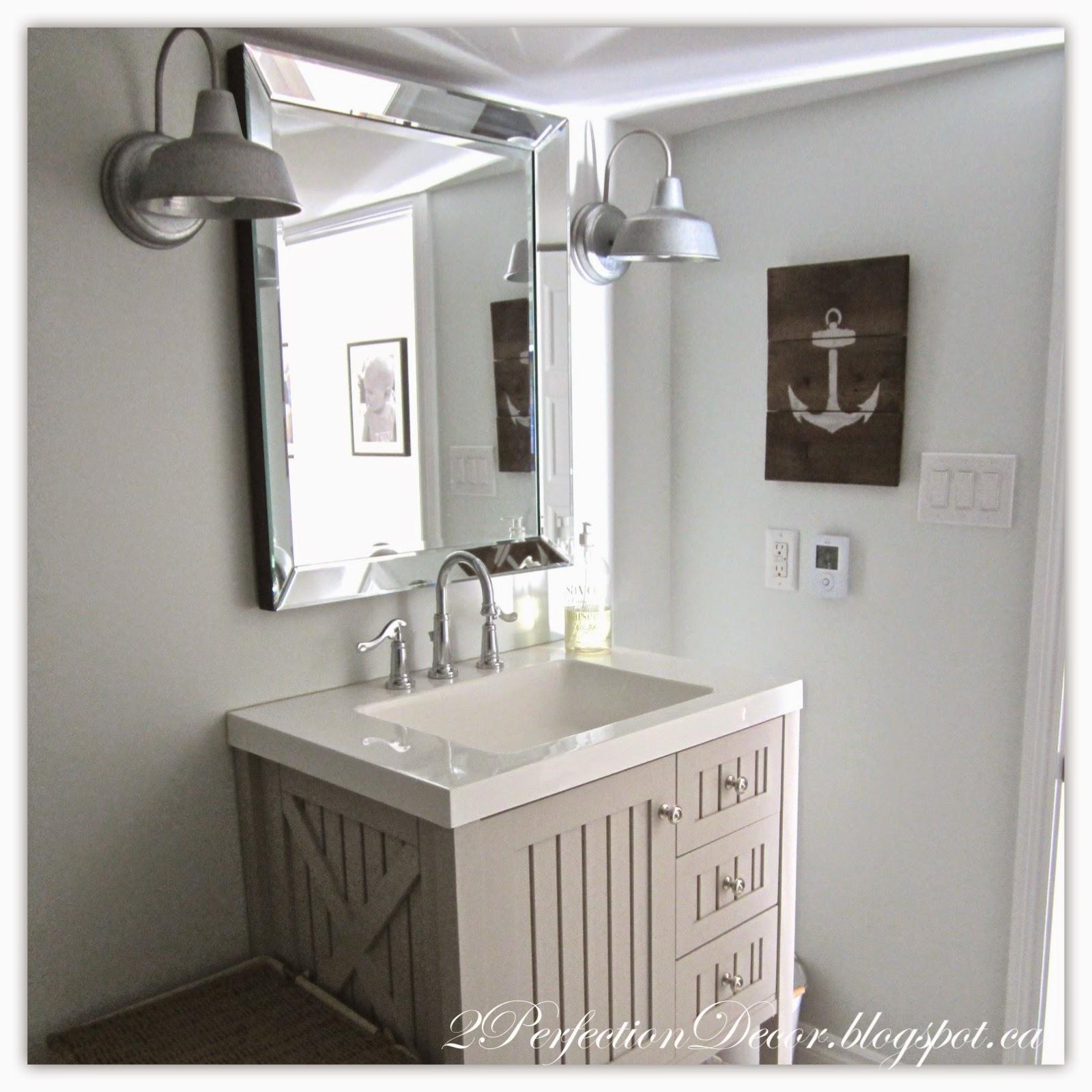Basement Bathroom Ideas: 2Perfection Decor: Our Basement Reno Full Reveal Recap