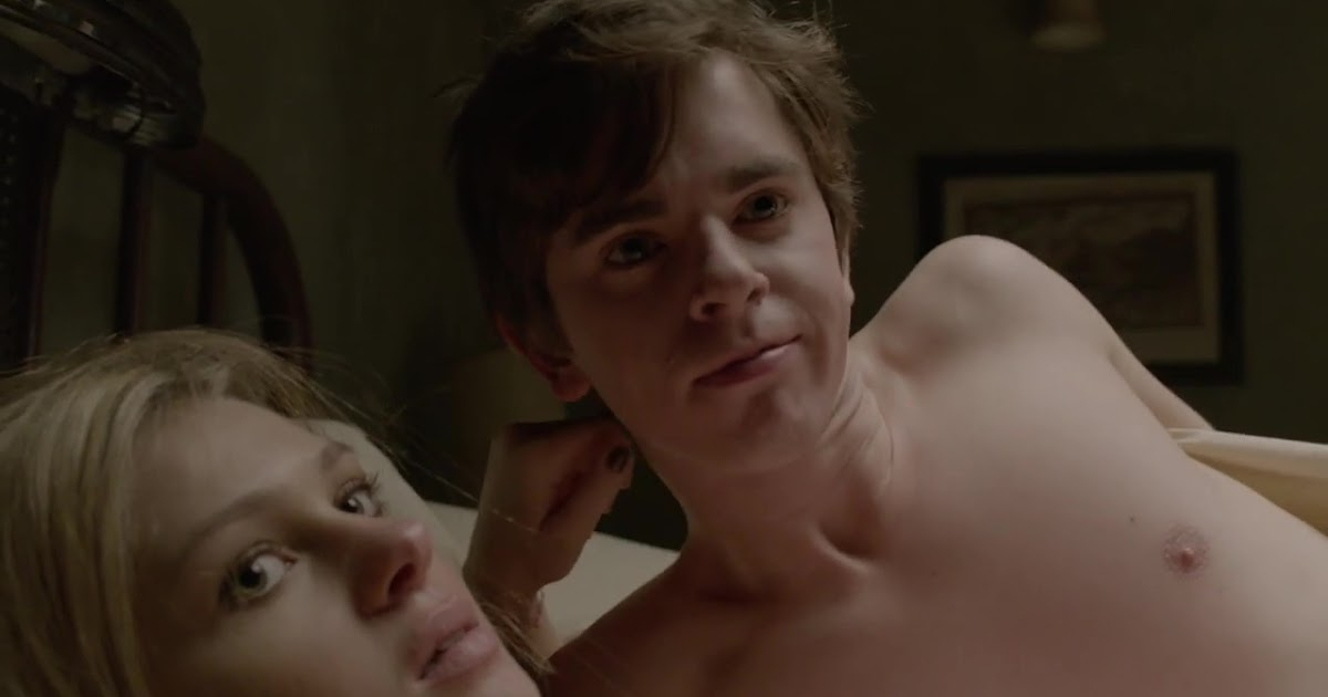 Freddie highmore hooked up with a guy in latest bates motel