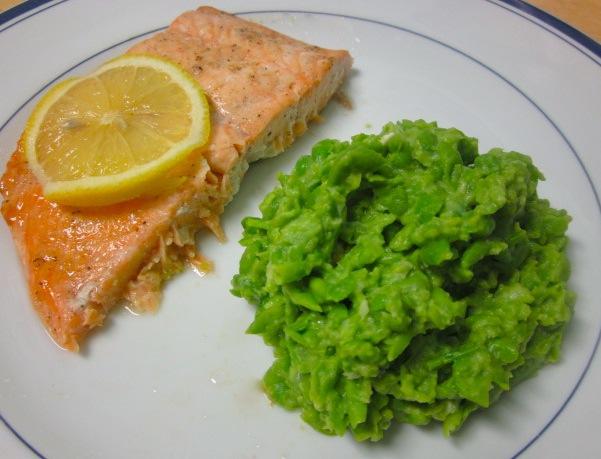 Пюре из зеленого горошка рецепт