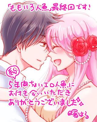 Momoiro Ningyo, mangá da menina sereia, chega ao fim