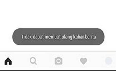 instagram tidak bisa refresh