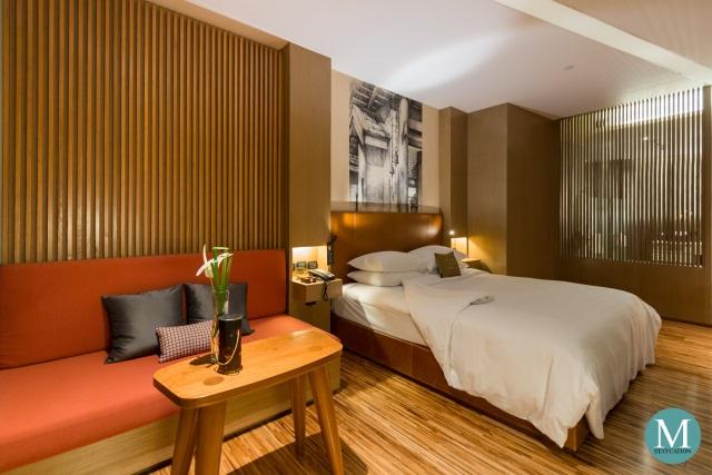 SO Comfy Room Wood Element at SO Sofitel Bangkok