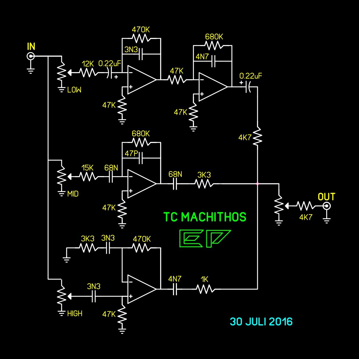 Image Result For Power Supply Untuk Tone Control Parametrik