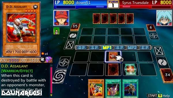 Yu Gi Oh GX Tag Force 3 PSP Game
