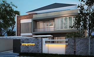 examples of minimalist 2-storey inspirational home designs for you - Lampung interior house