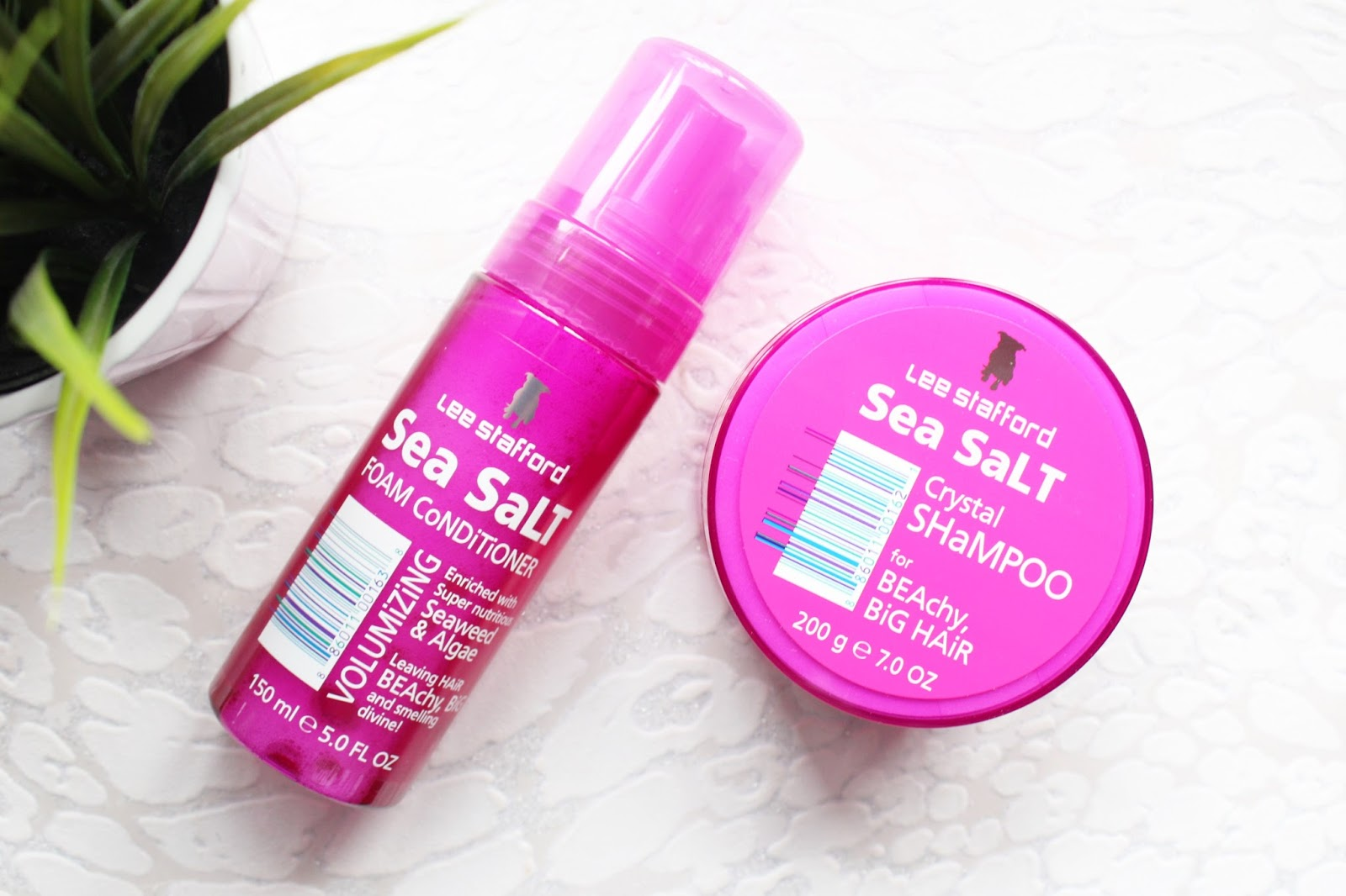 Lee Stafford Sea Salt Hair Care