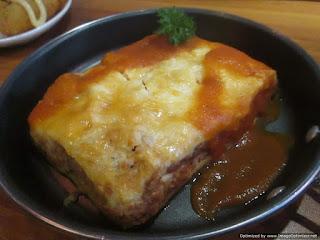 Beef Lasagna Strada Caffe Semarang