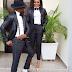 Ex BB Naija Host, Ebuka Obi-Uchendu and his wife rock matching tuxedo