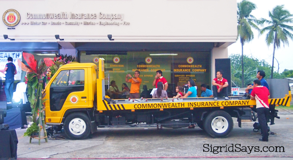 24/7 Bacolod Tow Truck Service - Commonwealth Insurance Bacolod