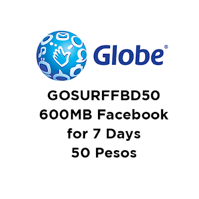 GOSURFFBD50 : 600MB Facebook for 7 Days, Used to Extend GoSakto FB Promo