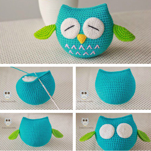 Cute Owl - Free Crochet Pattern