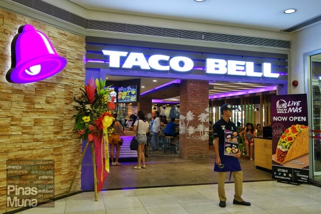 The New Taco Bell Live Más Store At Gateway Mall Cubao