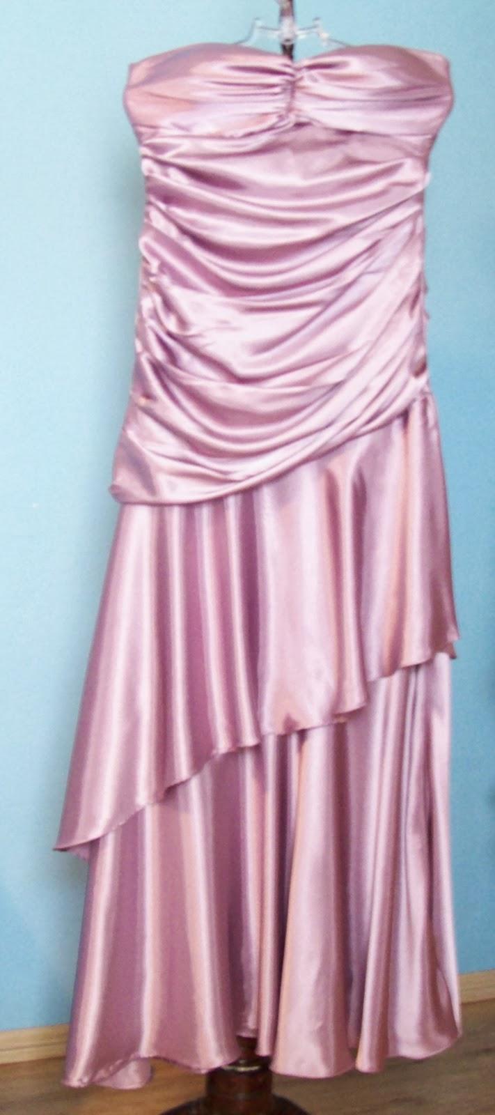 Vestido longo rosé Material tamanho M
