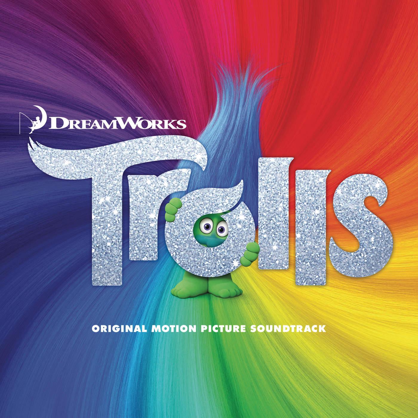 Various Artists - Trolls (Original Motion Picture Soundtrack) Cover