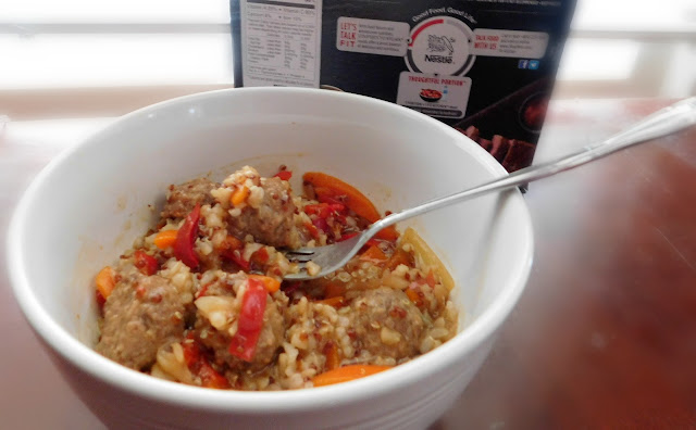 Stouffer's New Fit Kitchen Sweet and Spicy Meatballs