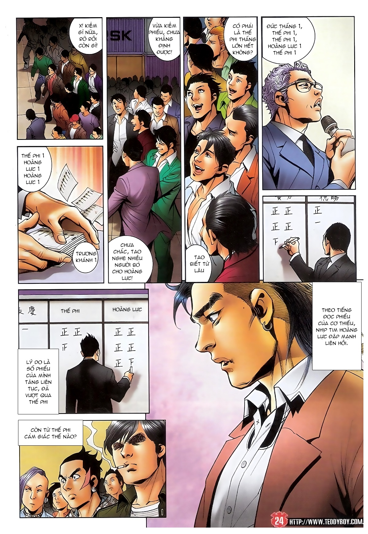 Người Trong Giang Hồ - Chapter 1561: Lòng người theo về - Pic 21