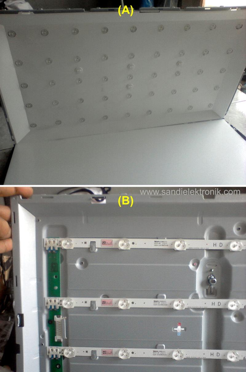 Perbaikan Led Tv Layar Gelap Sandi Elektronik