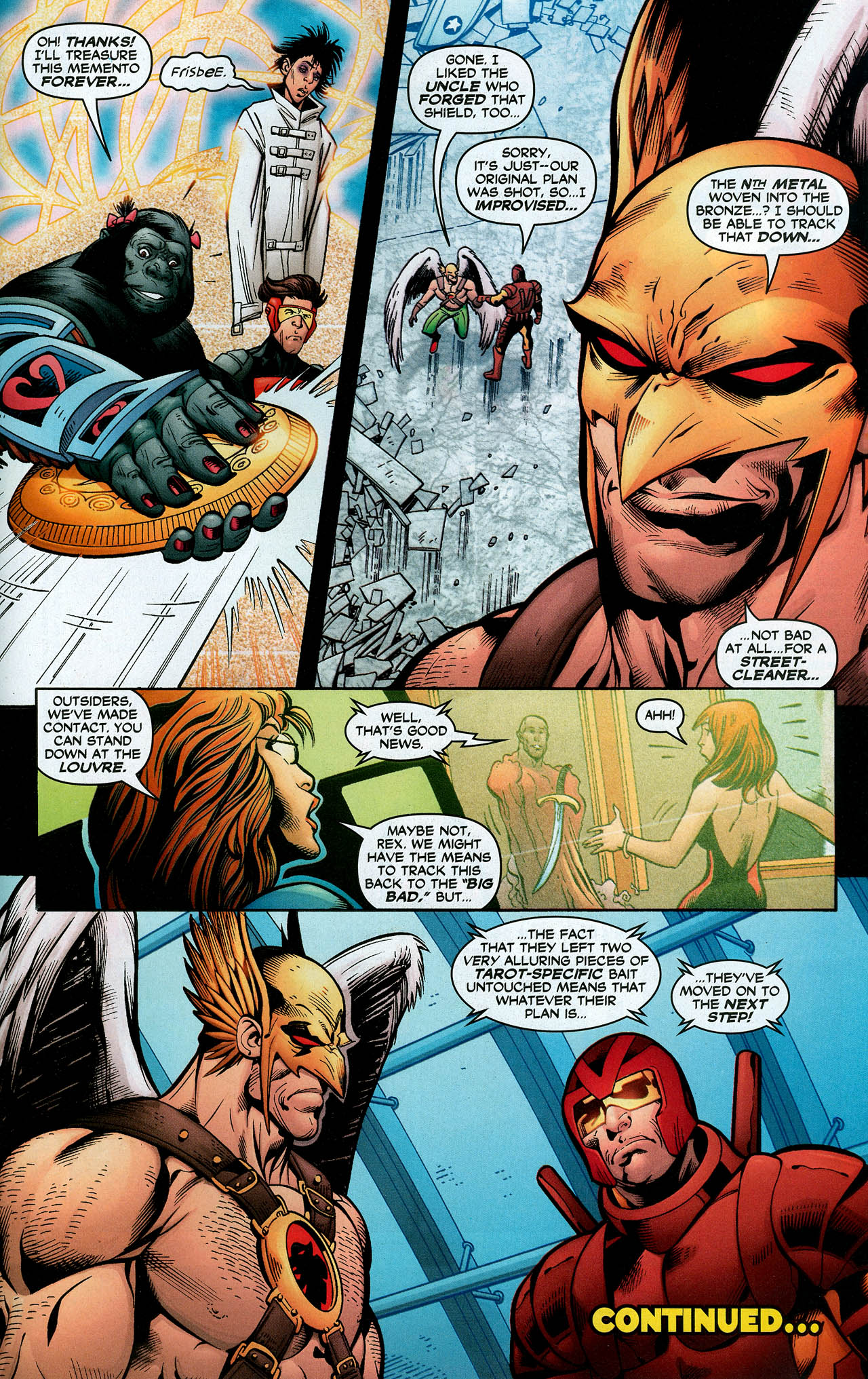 Read online Trinity (2008) comic -  Issue #11 - 32