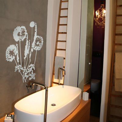 stickers muraux salle de bain collection de stickers. Black Bedroom Furniture Sets. Home Design Ideas