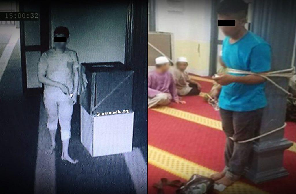"""Seorang Pemuda """"Mencuri"""" Tabung Masjid Dihina dan Dipukul ..."""