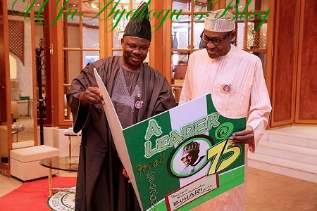 Buhari @ 75th Gets Birthday Gift From Grandchild, Others ...See More Photos From Aso Rock
