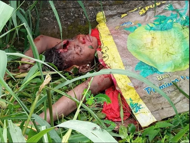Woman Raped And Brutally Killed In Uncompleted Building In Bayelsa.Graphic Photo