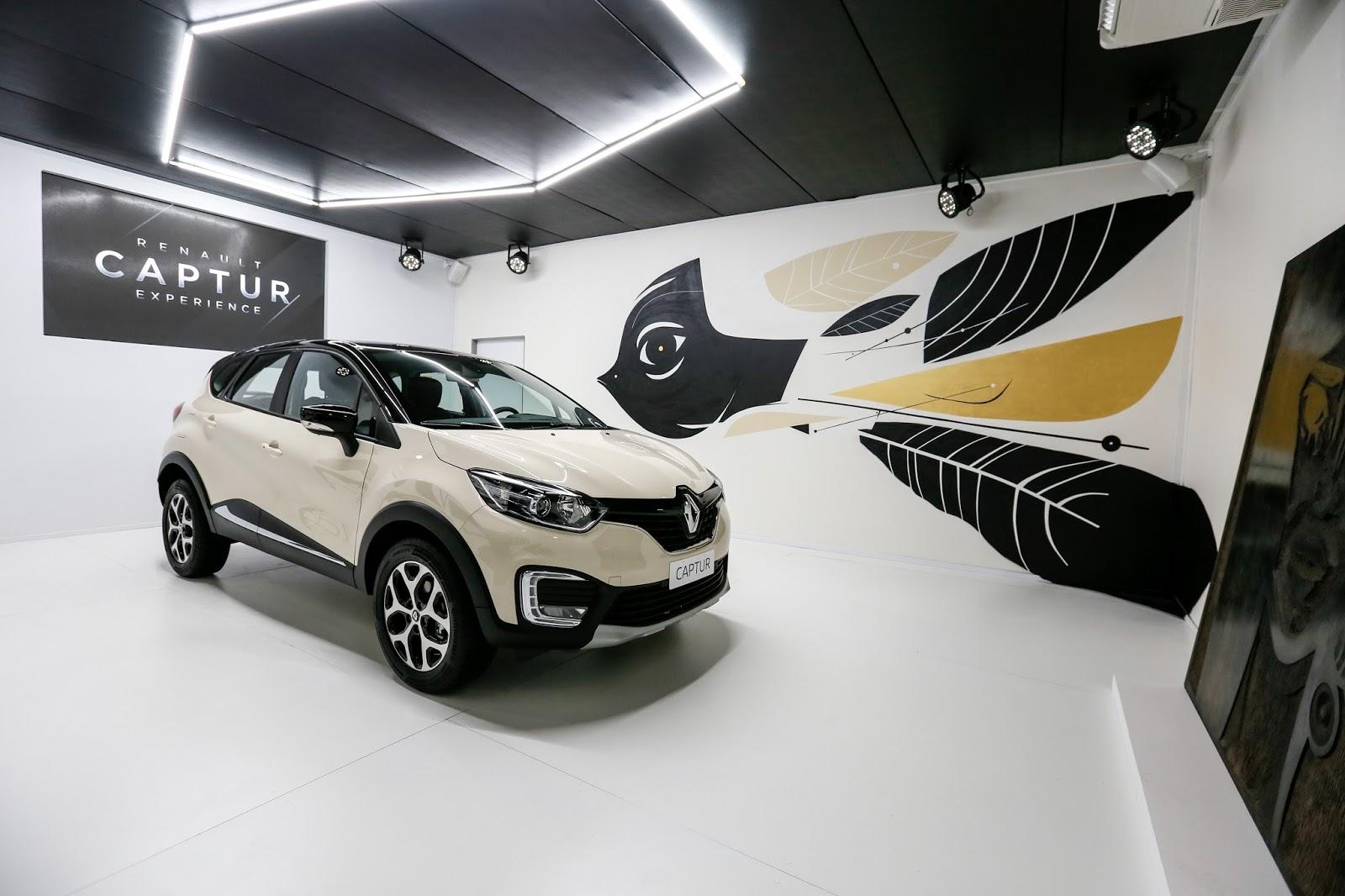 Lançamento do Renault Captur agrega celebridades, gastronomia, cultura e música