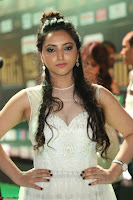 Meghana Gaur in a Deep Neck Sleeveless White Gown at IIFA Utsavam Awards 015.JPG