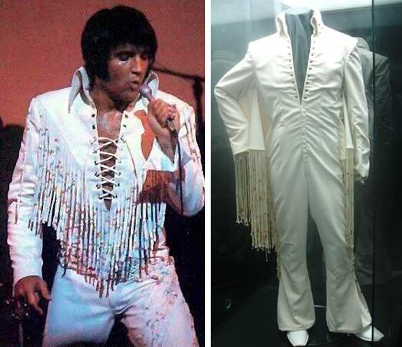 Elvis Presley macacão show anos 70