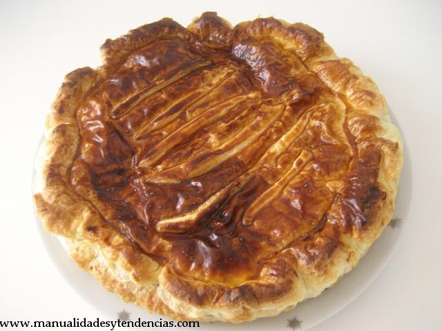 Recette Galette de Rois /Receta  tarta de almendras