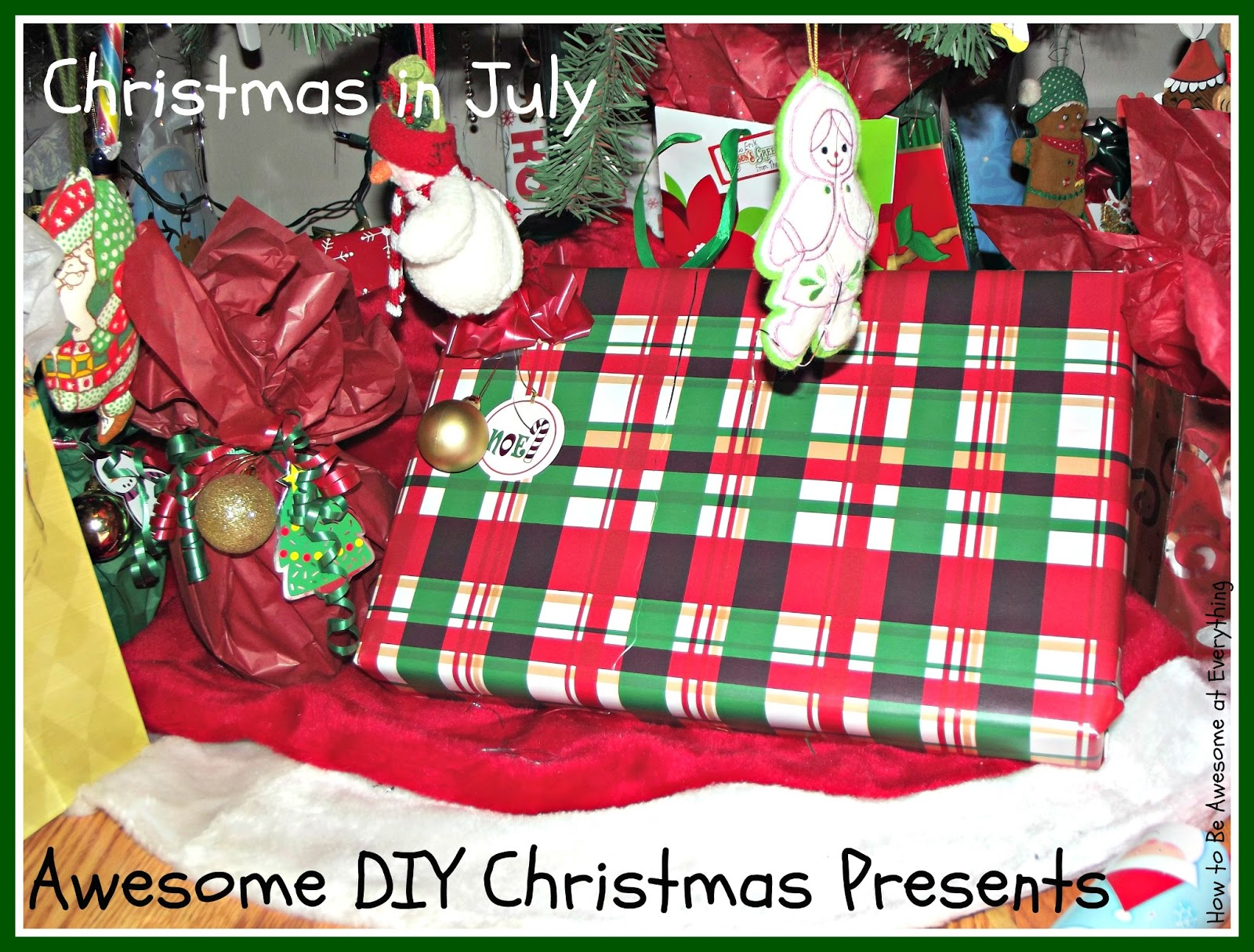 How To Be Awesome At Everything: Awesome DIY Christmas