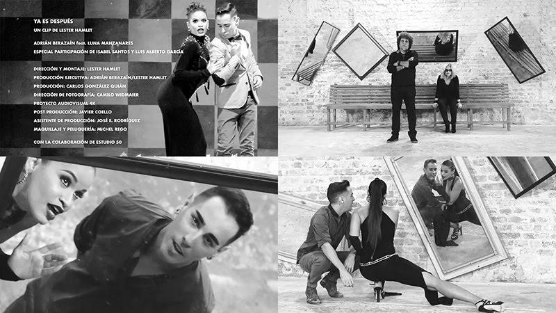 Adrián Berazaín y Luna Manzanares - ¨Ya es después¨ - Videoclip - Dirección: Lester Hamlet. Portal del Vídeo Clip Cubano