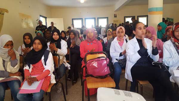 تتويج التلاميذ المتفوقين بكلميمة بمناسبة اليوم العالمي للمرأة