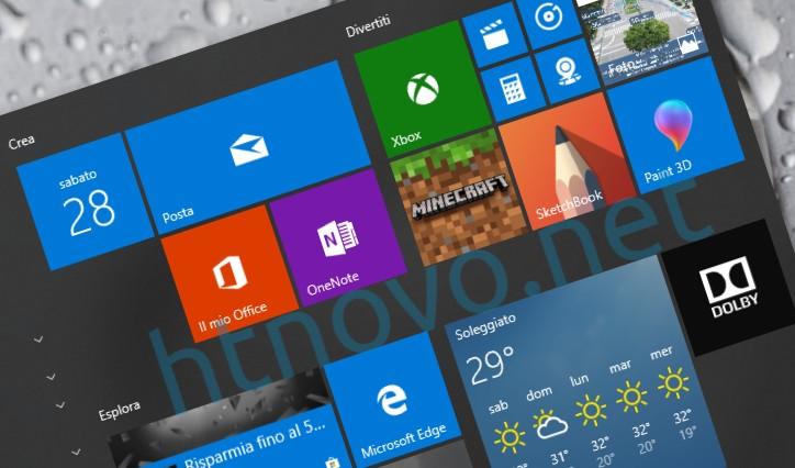 Microsoft-al-lavoro-menu-start-windows-10