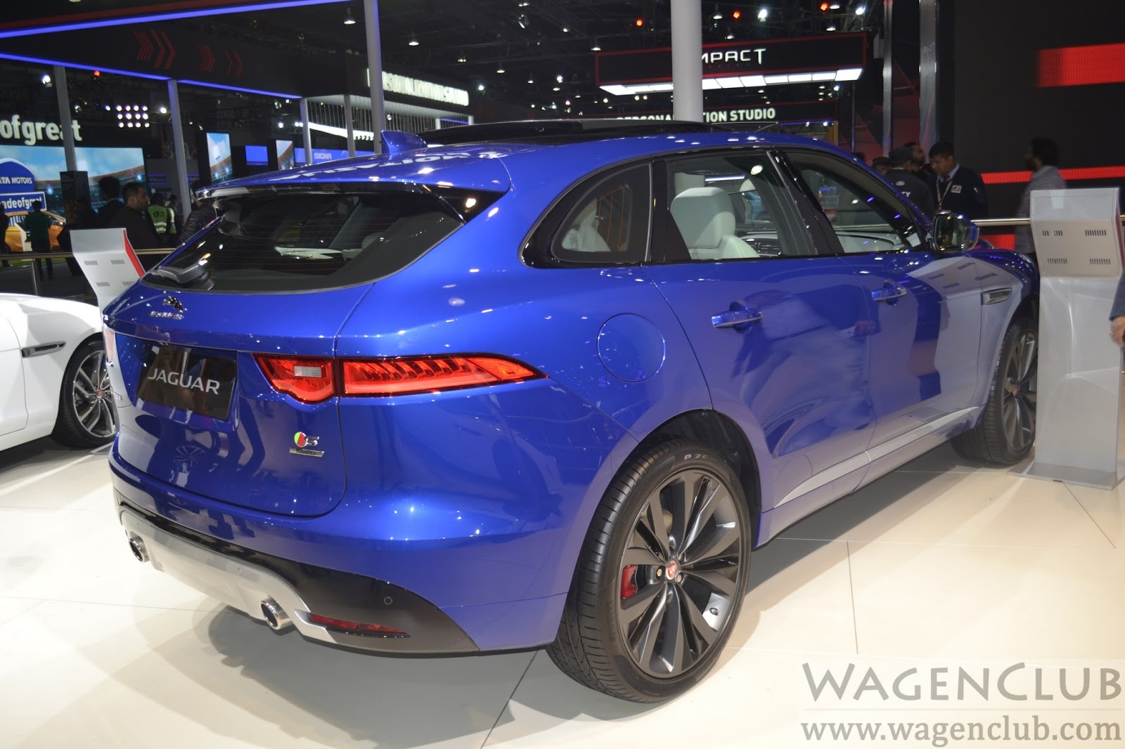 F pace suv india