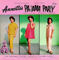 Annette Funnicello pajama party