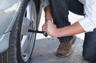 Comment réparer un pneu crevé