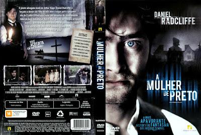 Filme A Mulher de Preto DVD Capa