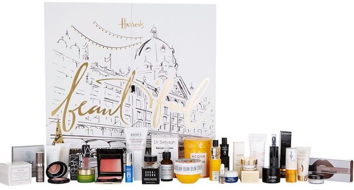 Harrods Beauty Advent Calendar 2018 Full Contents, Spoilers