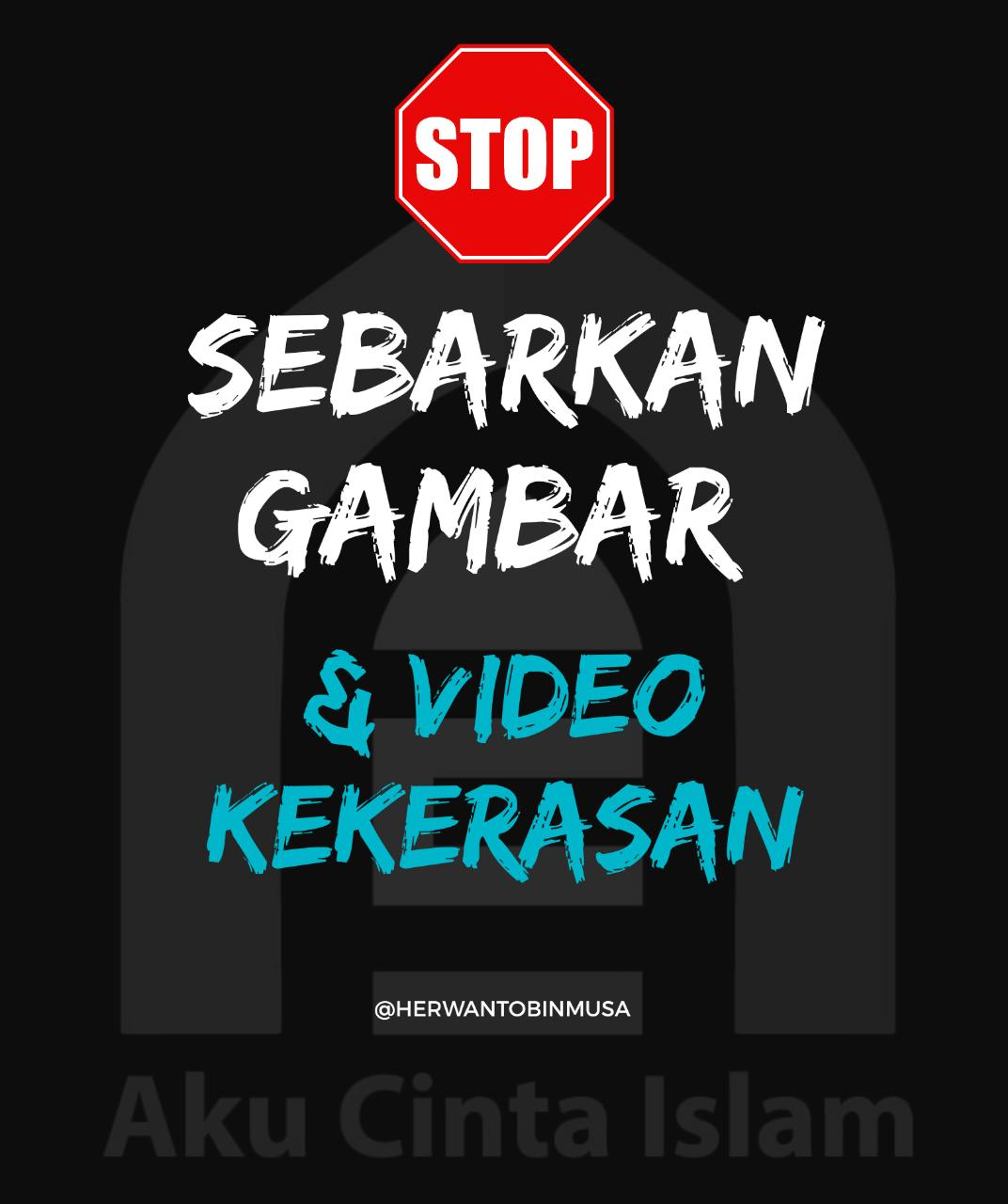 Jangan Share Video Penembakan, Ini Alasannya