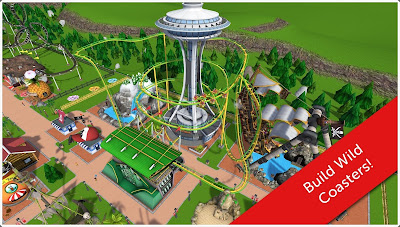 RollerCoaster Tycoon Touch Build Wild Coaster