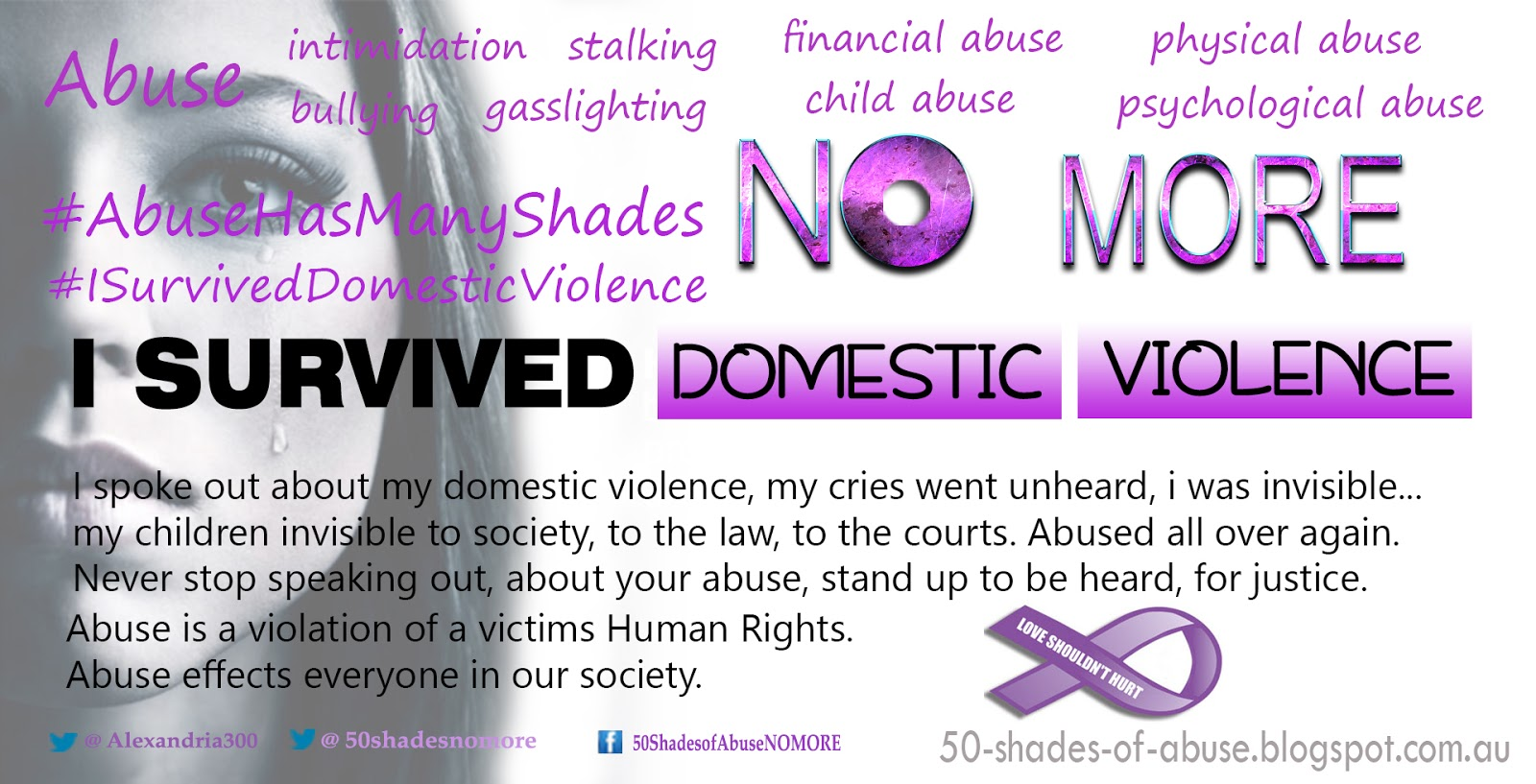 Domestic Violence Awareness Poem