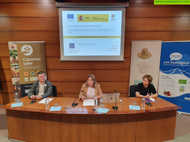 Canarias apuesta por el consumo de productos ecológicos en los comedores públicos