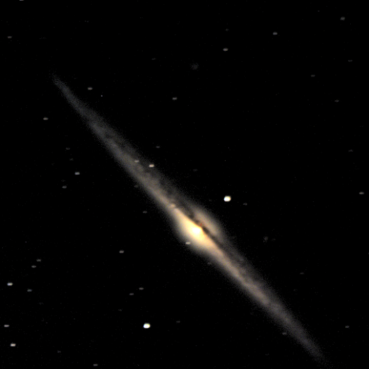 Featured Object - The Needle Galaxy