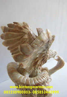Jual Patung Garuda Marmer Antik