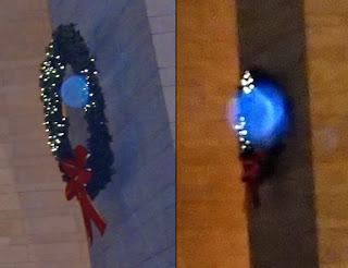 orbs in wreaths