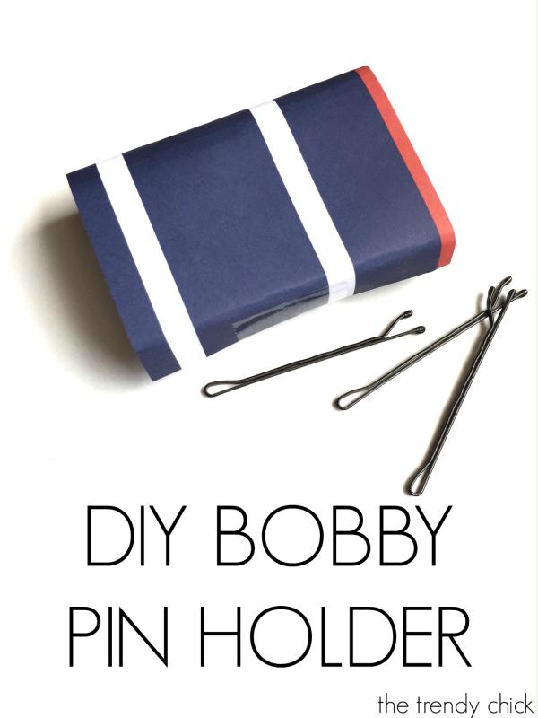 DIY Bobby Pin Holder