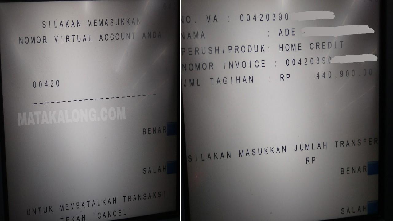 Cara Bayar Cicilan Home Credit Lewat ATM BCA