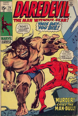 Daredevil #79, the Man-Bull