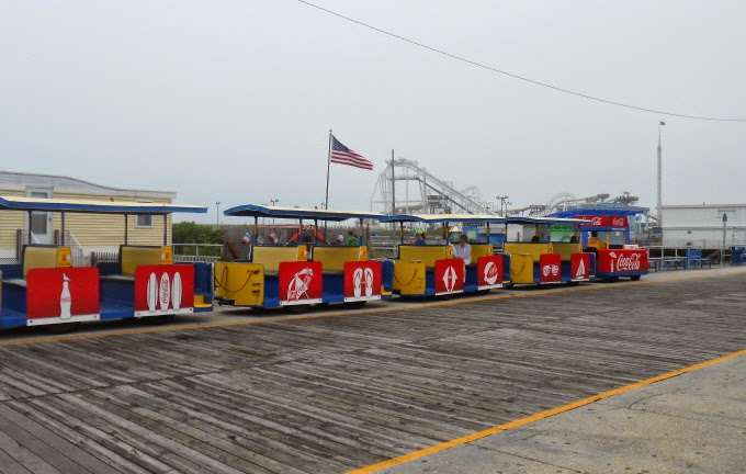 Sightseer Tram Car in Wildwood New Jersey
